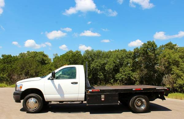 2008 DODGE RAM 3500 6.7L CUMMINS FLATBED*CLEAN CARFAX!*CALL/TEXT NOW!*