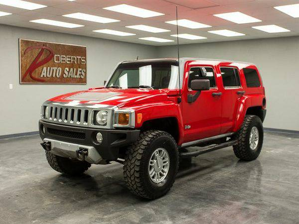2008 *Hummer* *H3* Base FAST APPROVAL AND IN HOUSE FINANCING