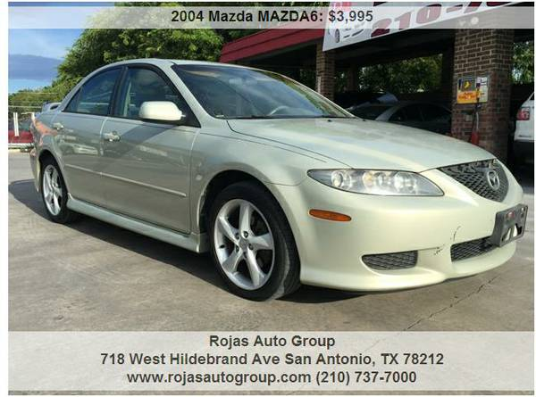 🔥2004 MAZDA 6* 4DR* AUTO* ONLY $3500 CASH! 170K MILES!