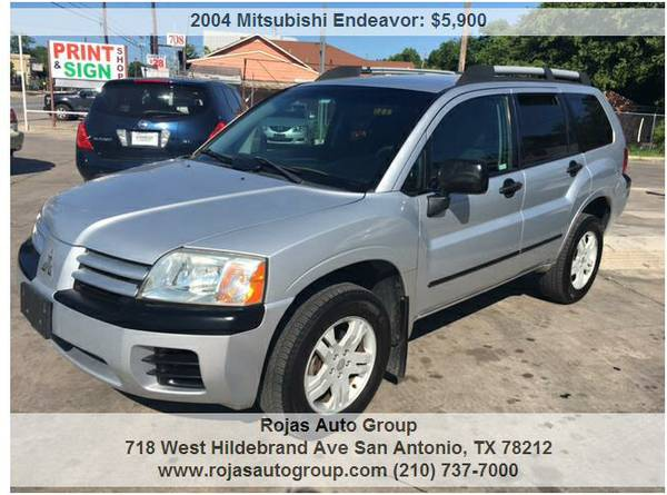 🔥🔥WEEKEND SPECIAL! 2004 MITSUBISHI ENDEAVOR! AWD!