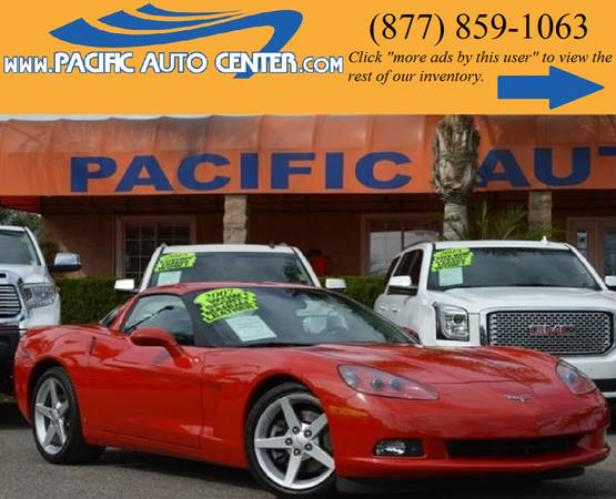 2007 Chevrolet Corvette Coupe LT1 6.0 V8 CHEVROLET CORVETTE #15151