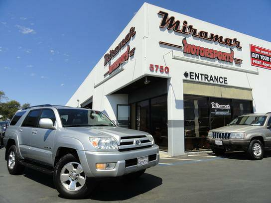 2005 Toyota 4Runner 4WD Limited Fully Serviced