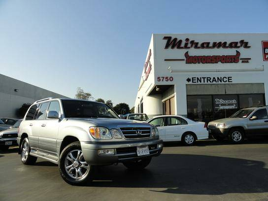 2005 Lexus LX 470 4WD 1 Original Owner! Fully Serviced!!!