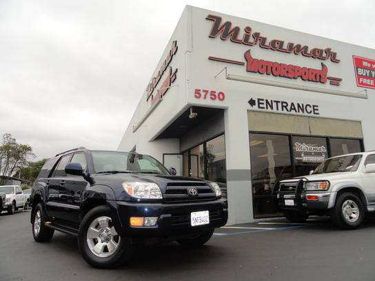 2005 Toyota 4Runner 2WD Limited Flawless!!