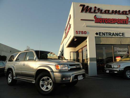 2001 Toyota 4Runner 2WD Limited FLAWLESS Fully Serviced!!