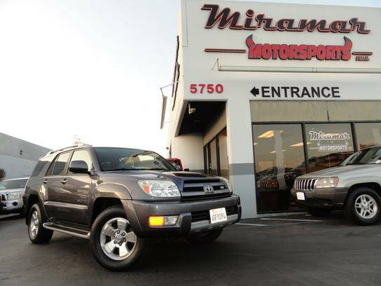 2003 Toyota 4Runner 4WD Limited Rare V8! Fully Serviced!!