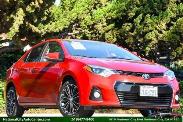 2014 Toyota Corolla CVT S Plus ONE OWNER, LOADED, SHOWROOM BEAUTY
