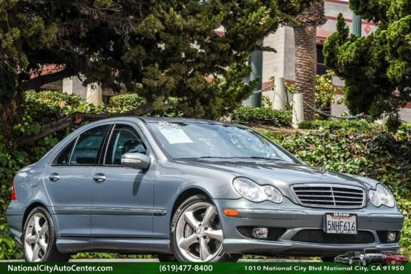 2005 Mercedes-Benz C-Class Sport ONE OWNER, SUPER CLEAN, LOW MILES,...