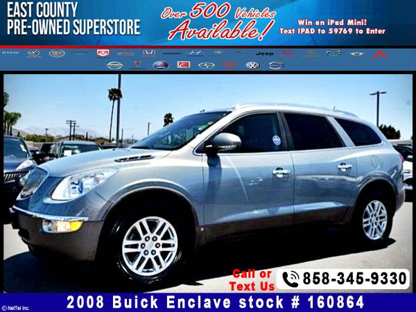 2008 Buick Enclave CX Stock #160864