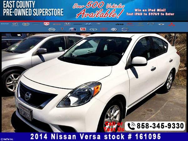 2014 Nissan Versa 1.6 SV Stock #161095