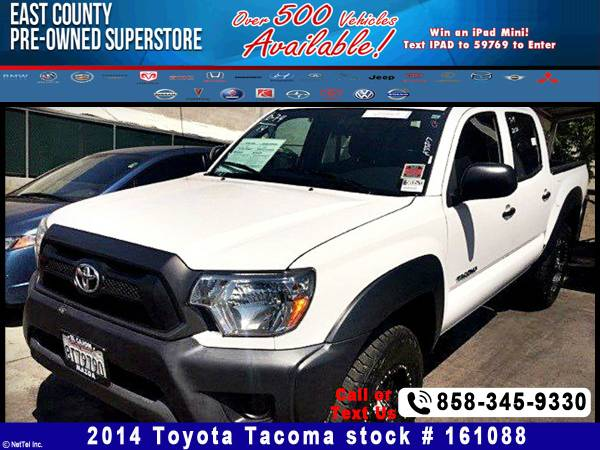 2014 Toyota Tacoma BASE Stock #161088