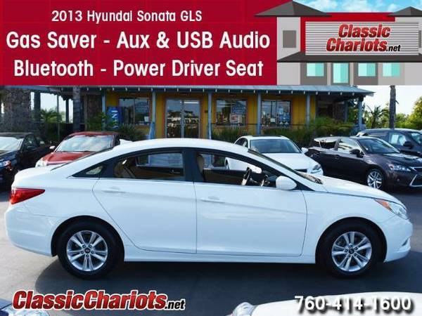 2013 *Hyundai* *Sonata* GLS - 1 Owner - Bluetooth