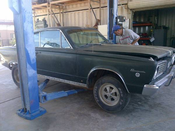 #### 1966 BARRACUDA S COMMANDER PRETTY RARE MUSCLE CAR #### SELL OR