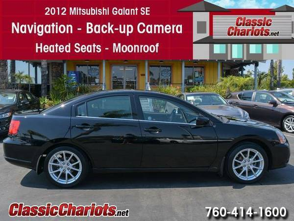 2012 *Mitsubishi* *Galant* SE - Navigation - Moonroof - BackUp Camera