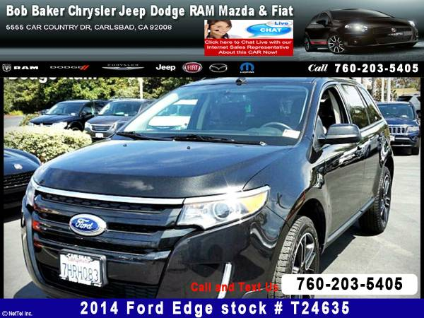 2014 Ford Edge SEL Stock #T24635
