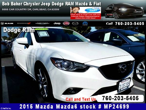 2015 Mazda Mazda6 i Grand Touring Stock #MP24699