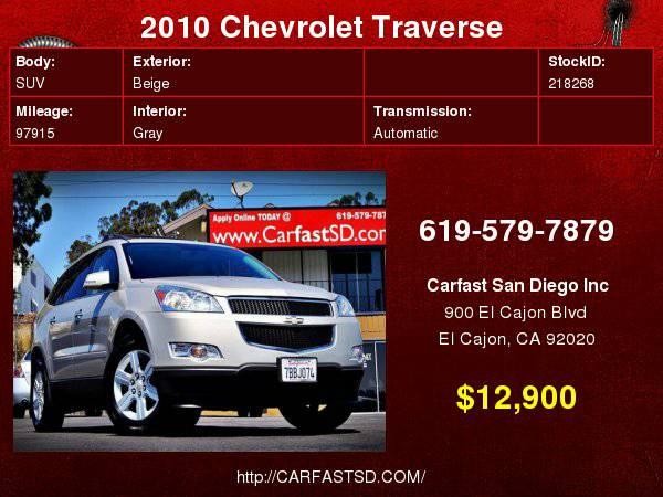 2010 Chevrolet Traverse LT 4dr SUV w/1LT