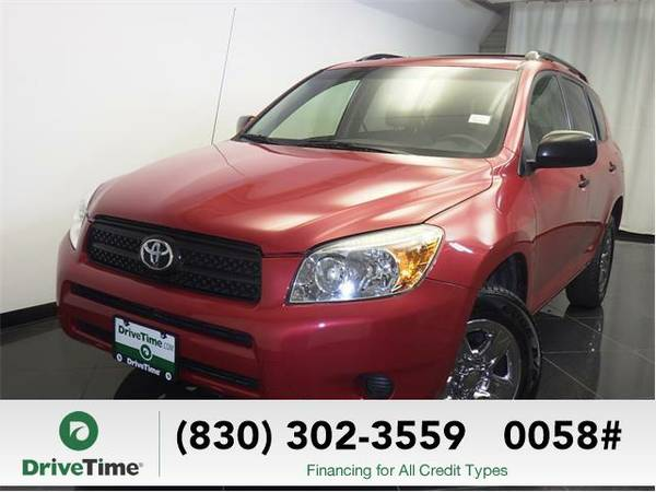 Beautiful 2008 *Toyota RAV4* Base (RED) - Clean Title