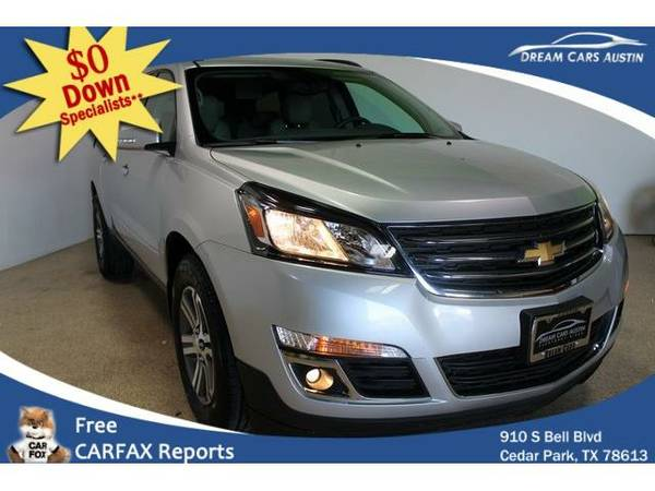 2015 *Chevrolet*Traverse AWD* 4d Wagon LT2 - GOOD OR BAD CREDIT OK!
