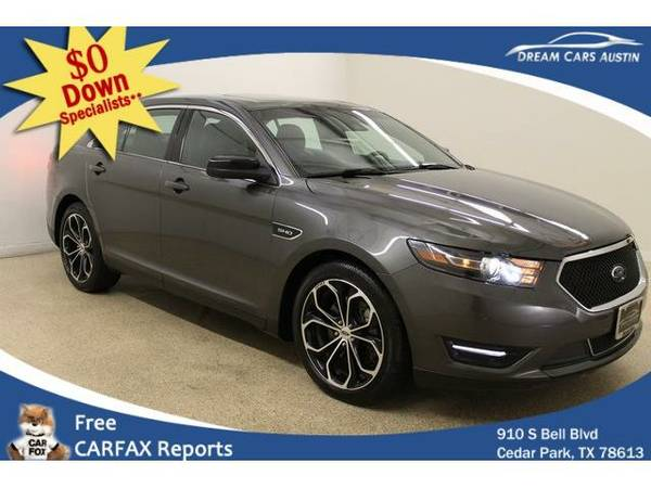 2015 *Ford*Taurus* 4d Sedan SHO AWD - GOOD OR BAD CREDIT OK!