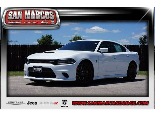 2016 *Dodge Charger* SRT Hellcat - Bright White Clearcoat