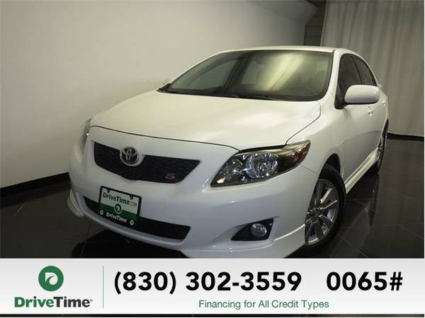 Beautiful 2010 *Toyota Corolla* S (WHITE) - Clean Title