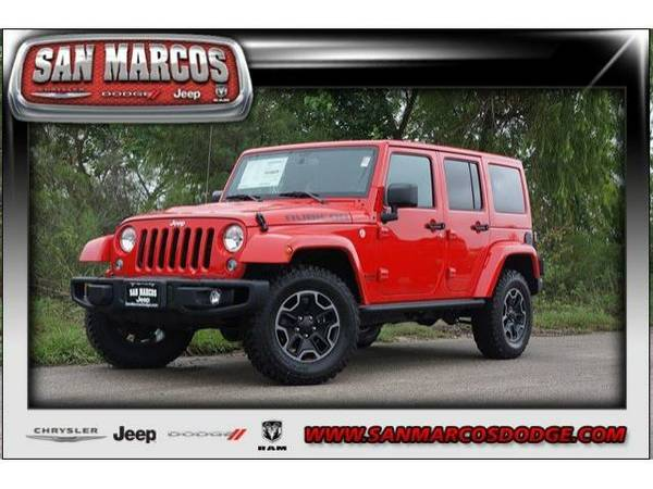2016 *Jeep Wrangler Unlimited* - Firecracker Red Clearcoat
