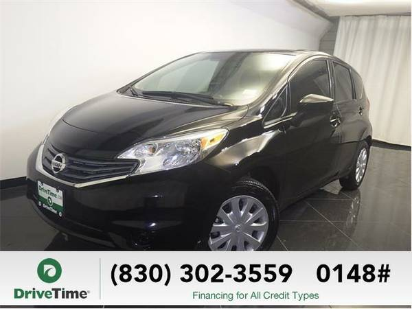 Beautiful 2015 *Nissan Versa Note* S Plus (Super Black) - Clean Title