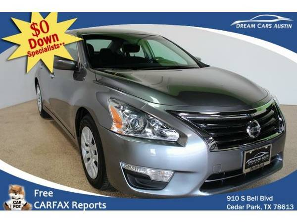 2015 *Nissan*Altima* 4d Sedan S 2.5L - GOOD OR BAD CREDIT OK!