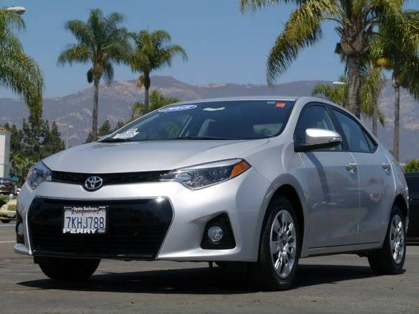 2015 Toyota Corolla S Premium Sedan Corolla Toyota