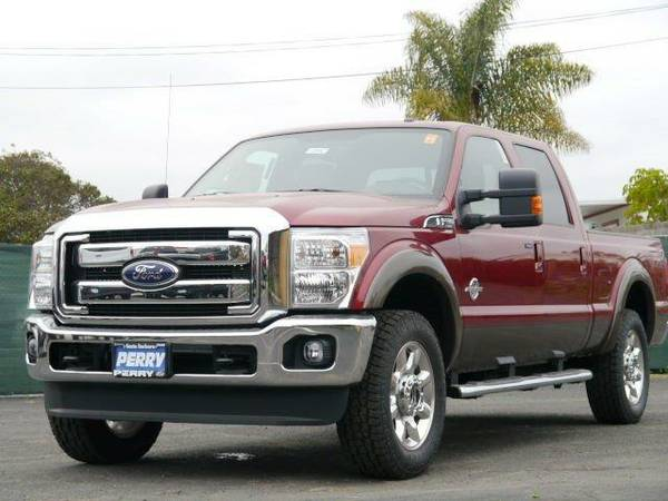 2016 *Ford Super Duty F-250 SRW* - RUBY RED METALLIC