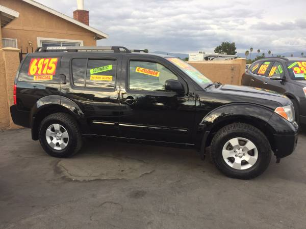 (2007 NISSAN PATHFINDER , 6 CYLD, 3RD ROW SEAT.) CALL NOW