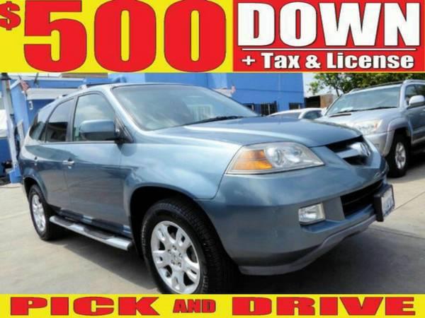 $500 DOWN PICK & DRIVE (oac) 2006 ACURA MDX