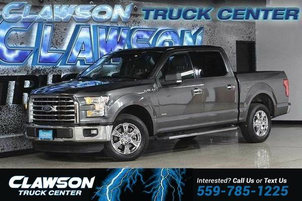 2015 Ford F-150 2WD SuperCrew 145 XLT Truck F-150 Ford