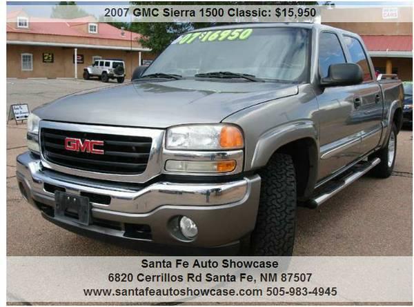 ★2007 GMC Sierra 1500 Classic V8 SILVER★