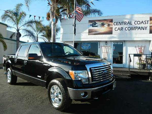2011 FORD F-150 ECO BOOST 4X4 SUPER CLEAN!!!