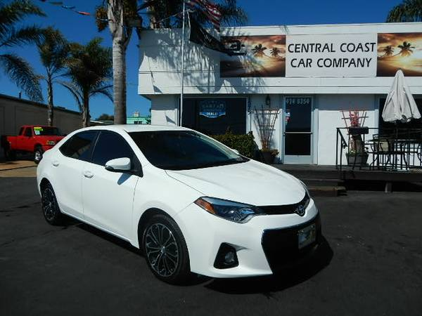 2014 TOYOTA COROLLA S BACKUP CAMERA SUPER CLEAN PRICED TO SELL!!!!
