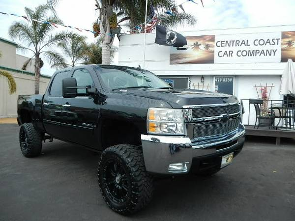2009 CHEVY SILVERADO 4X4 2500HD MONSTER LIFT!!!