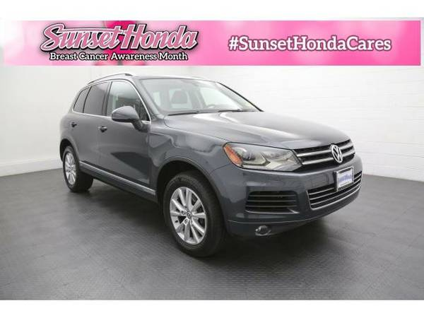 2013 *Volkswagen Touareg* VR6 FSI - Great Credit, Bad Credit, No...