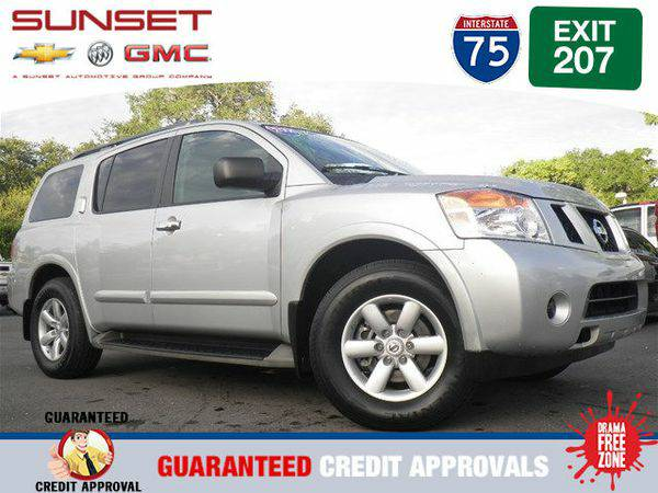 2014 *Nissan* *Armada* SV -FINANCE EVERYONE