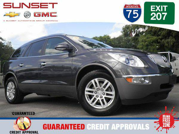 Certified 2012 *Buick* *Enclave* Convenience -FINANCE EVERYONE
