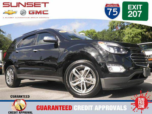 Certified 2016 *Chevrolet* *Equinox* LTZ -FINANCE EVERYONE
