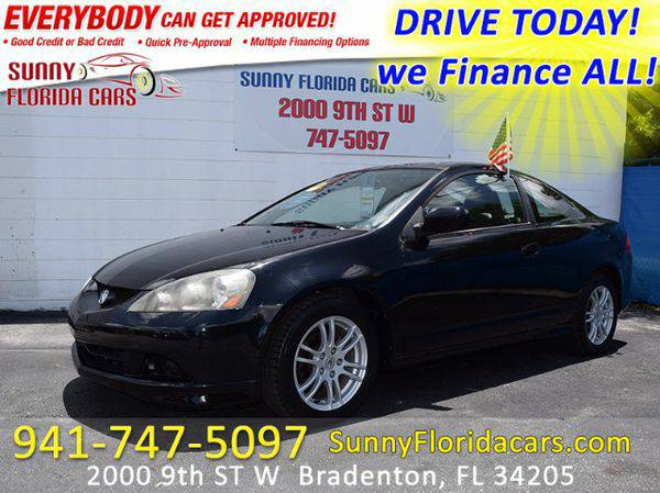 2006 *Acura* *RSX* Coupe with 5-speed AT - WE FINANCE ALL - EVERY ONE