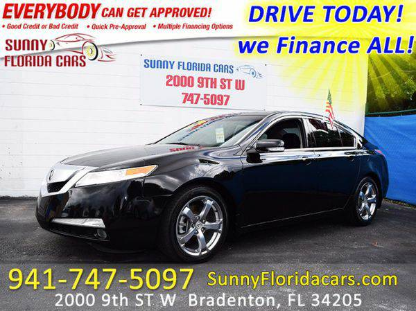 2010 *Acura* *TL* 5-Speed AT with Tech Package - WE FINANCE ALL - EVER