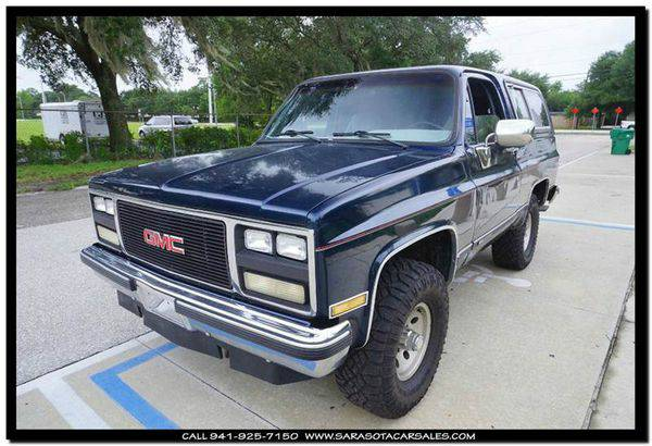 1989 *GMC* *Jimmy* Base 2dr 4WD SUV - CALL or TEXT TODAY!!!