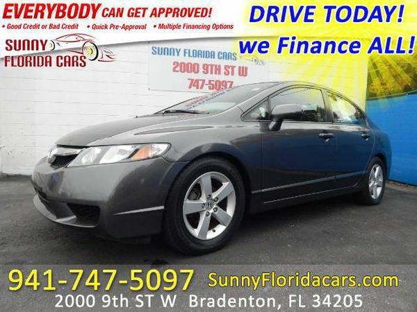 2010 *Honda* *Civic* LX-S Sedan 5-Speed AT - WE FINANCE ALL - EVERY ON