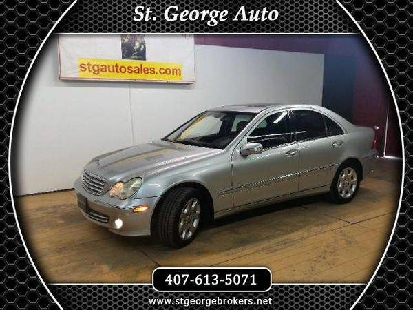 2005 *Mercedes-Benz* *C-Class* C240 Luxury Sedan - Call or Text! Finan