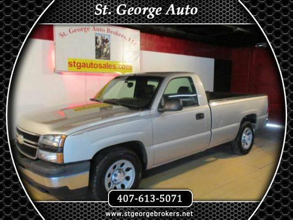 2006 *Chevrolet* *Silverado* *1500* Work Truck Long Bed 2WD - Call or