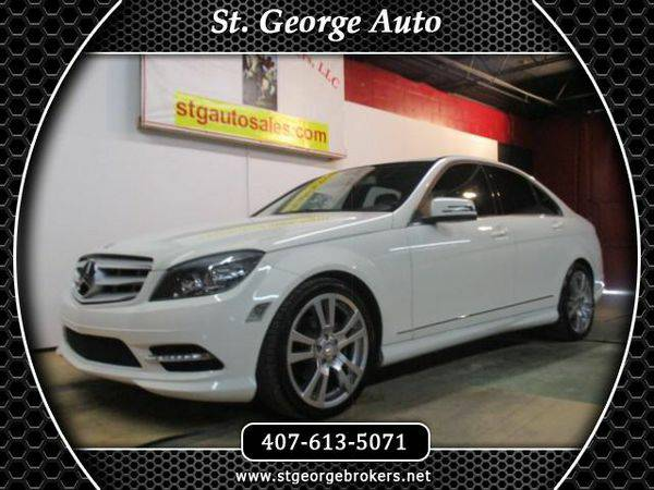 2011 *Mercedes-Benz* *C-Class* C300 Luxury Sedan - Call or Text! Finan