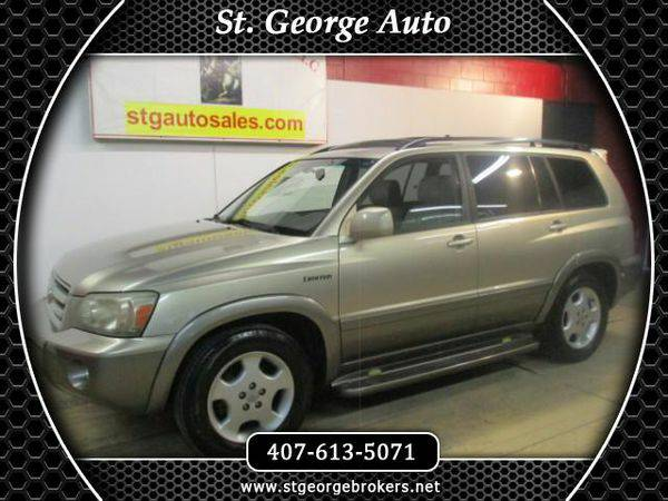2005 *Toyota* *Highlander* V6 2WD with 3rd-Row Seat - Call or Text! Fi